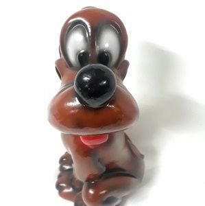 Walt Disney Production Pluto Rare vtg Figurine